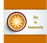 Joy in Generosity